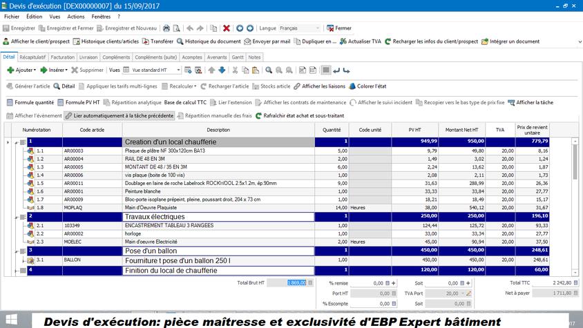 EBP Expert Bâtiment