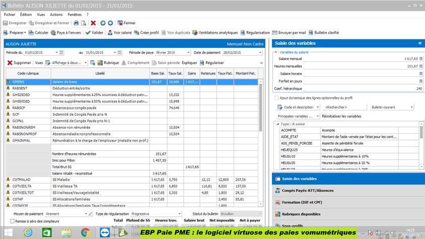 EBP Paie PME